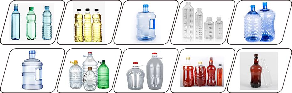 半自动吹瓶机产品图
